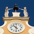 Clock Tower In Bardolino by Jaroslav Frank