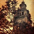 Clock Tower by Jill Battaglia
