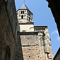 Cloister Cluny Church Steeple by Christiane Schulze Art And Photography