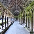Cloister Hallway At The Mont by Crystal Nederman