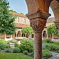 Cloisters Courtyard by Ray Warren
