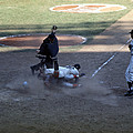 Close Play At The Plate  by Retro Images Archive