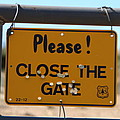Close The Gate by David S Reynolds