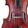 Close Up Of A Violine by Chevy Fleet
