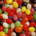 Close Up Of Jelly Beans by Anonymous