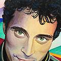 Close Up Portrait Rufus Sewell by Gloria Di Simone