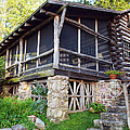 Closer View Of The Cabin by Robert Margetts