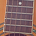 Closeup Of Guitar Art Prints by Valerie Garner