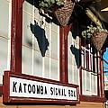 Closeup Of Katoomba Train Station by Yew Kwang