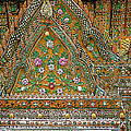 Closeup Of Temple Of The Dawn/wat Arun In Bangkok-thailand by Ruth Hager