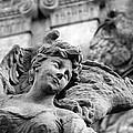 Closeup View Of The Original Baroque Sculpture by Jaroslav Frank