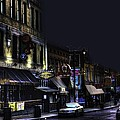 Memphis - Night - Closing Time On Beale Street by Barry Jones