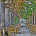 Cloth Hall Cafe In Krakow by Greg Matchick
