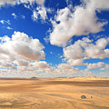 Cloudscape At Sahara Desert by Mu Yee Ting