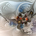 Cloud Cuckoo Land-fractal Art by Karin Kuhlmann
