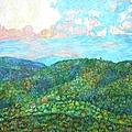 Cloud Dance On The Blue Ridge by Kendall Kessler