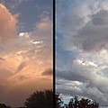 Cloud Diptych by James W Johnson
