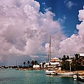 Cloud Faces Over St. George's, Bermuda by Marcus Dagan