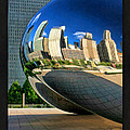 Cloud Gate Bean Poster by Christopher Arndt