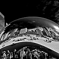 Cloud Gate Chicago - The Bean by Christine Till