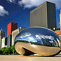 Cloud Gate Skyscrapers by Christopher Arndt