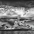 Cloud In Black And White by Bruce Bain
