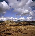 Cloud Passing Across The Cuillin Main Ridge And Bla Bheinn From Tokavaig Sleat Isle Of Skye Scotland by Michael Walters
