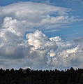 cloud scape sep 2014- Blue sky and clouds  by Leif Sohlman
