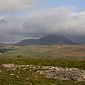 Cloud Streaming Across The Summit Of Pen-y-ghent Ribblesdale North Yorkshire England by Michael Walters