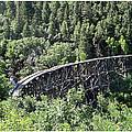 Cloudcroft Railroad Trestle by Jack Pumphrey