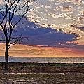 Clouding Up On Oyster Bay by Michael Thomas