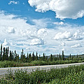 Clouds Above Taylor Highway To Chicken-ak by Ruth Hager
