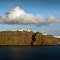 Clouds And Cliffs by Gary Eason
