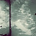Clouds And Power Lines by Patricia Strand