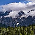Clouds Around Mountains, Robson by Mathieu Dupuis