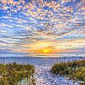 Clouds At Dawn by Debra and Dave Vanderlaan