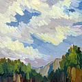 Clouds At Thousand Palms by Diane McClary