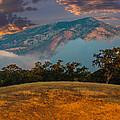 Clouds Fog And Mt Diablo by Marc Crumpler