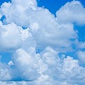 Clouds In Blue Sky by FL collection