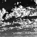 Clouds Of Freycinet Bw by Tim Richards