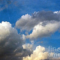 Clouds Of Today by Anita Lewis