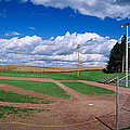 Clouds Over A Baseball Field, Field by Panoramic Images