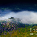 Clouds Over Bull Crag And Maiden Moor by Louise Heusinkveld