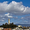 Clouds Over Coit Tower by Kate Brown