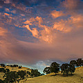 Clouds Over East Bay Hills by Marc Crumpler