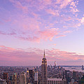 clouds over Empire State by Rima Biswas