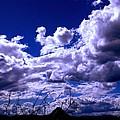 Clouds Over Gavilan Peak by L L Stewart