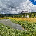 Clouds Over Hat Lake by Greg Nyquist