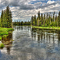 Clouds Over Henry's Fork by TL  Mair
