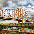 Clouds Over King Bridge by C H Apperson